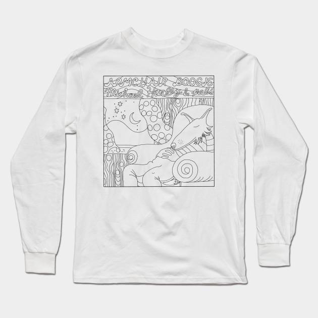 49fb27cc ARMCHAIR BOOGIE - Michael Hurley - Long Sleeve T-Shirt | TeePublic
