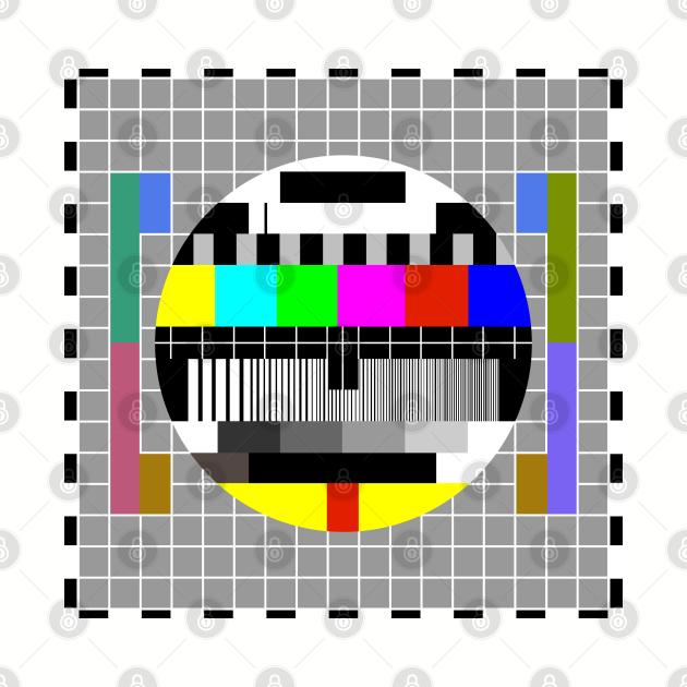 Test card grid