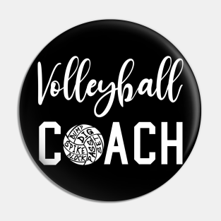 Volleyball Coach Gift Ideas Pins And Buttons Teepublic Au