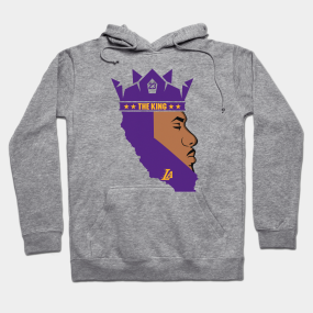Lebron James The King Lakers Hoodie 252c1e7a8