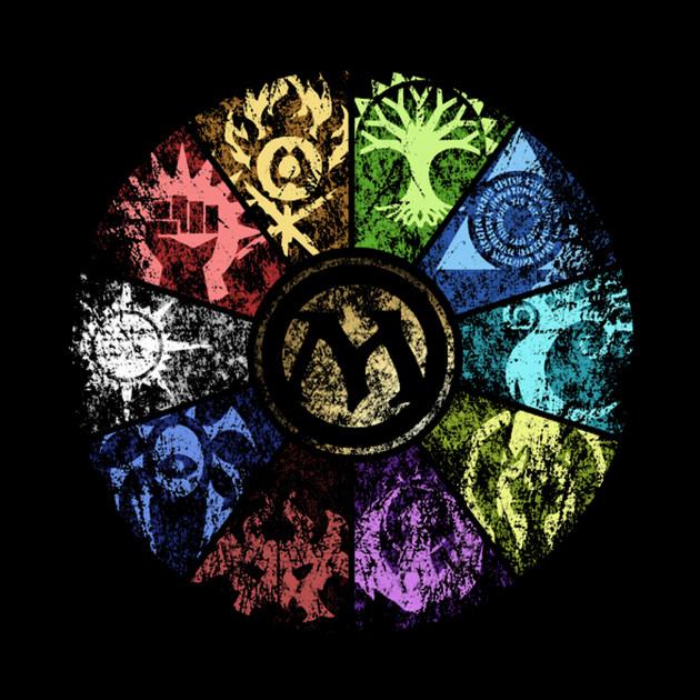 MTG | Faded Guild Wheel