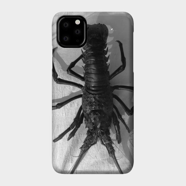 I Love Heart Lobsters Black Kids Sweatshirt