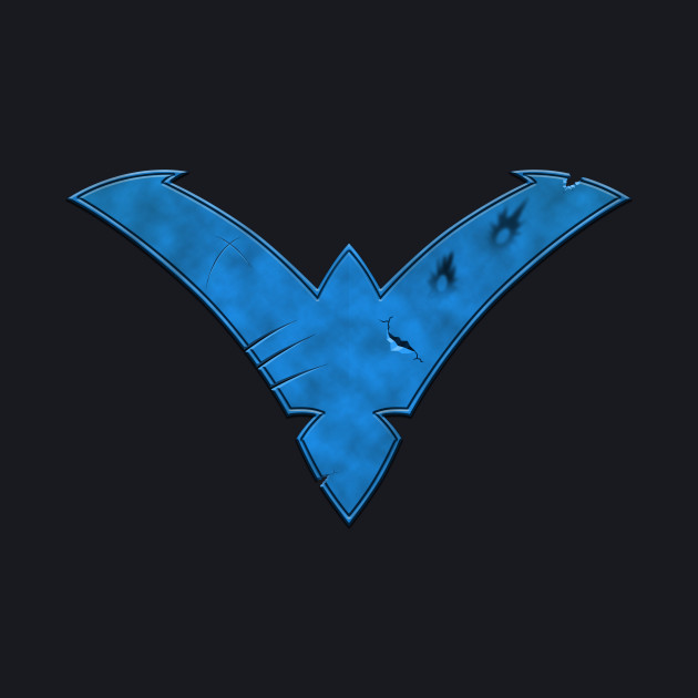Nightwing Damaged (Blue)