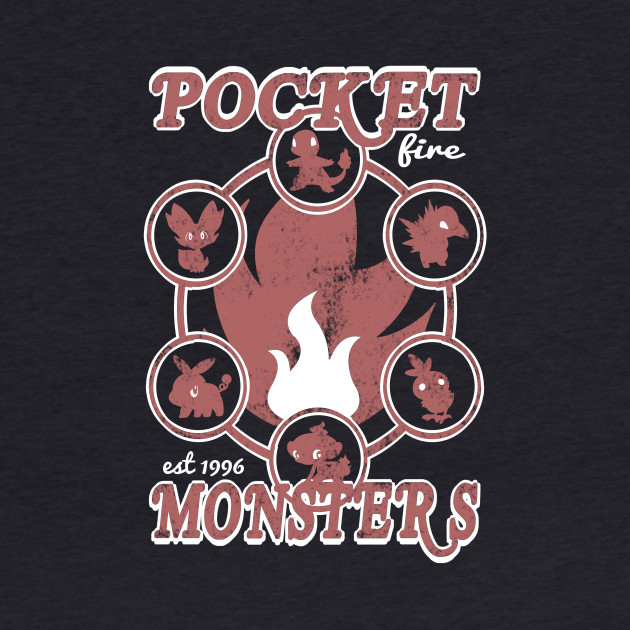 Pocket Monsters - Fire
