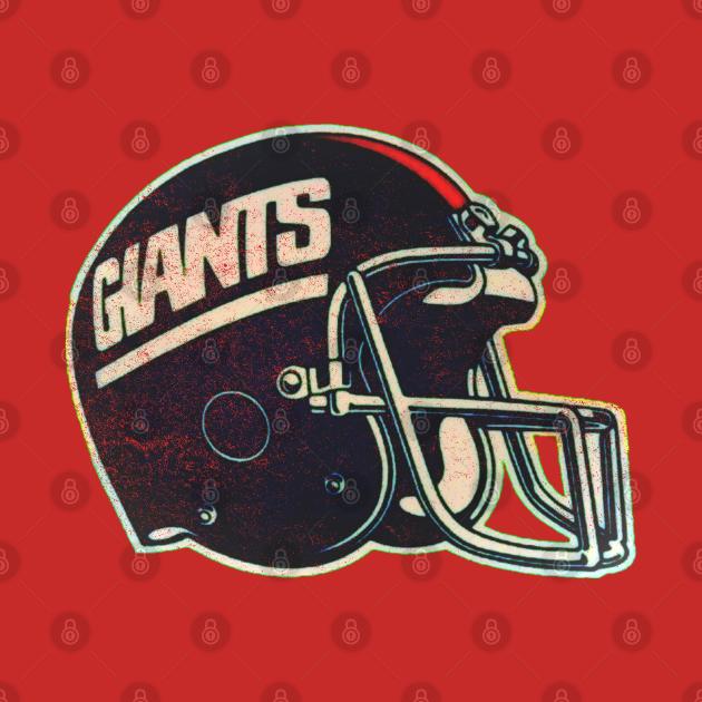80's Giants Helmet [Vintage Distressed]