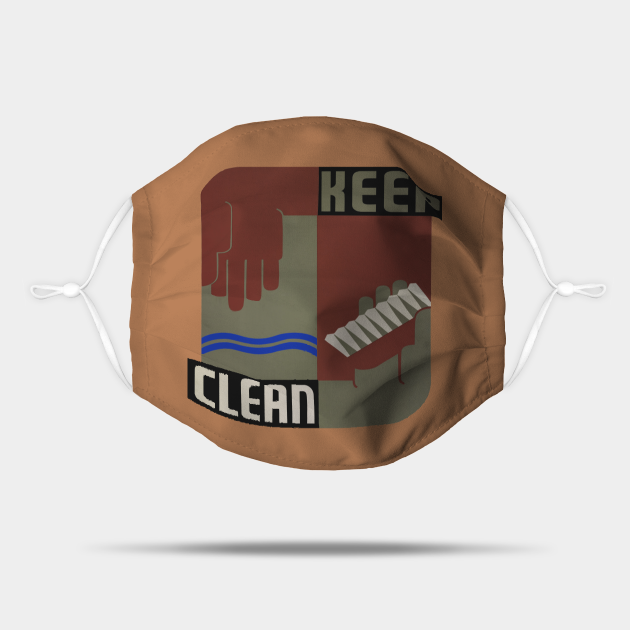 Retro Keep Clean Practice Good Hygiene, TPSSG