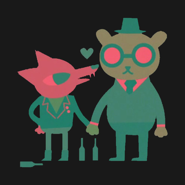 Gregg and Angus from Night in the Woods T-Shirt