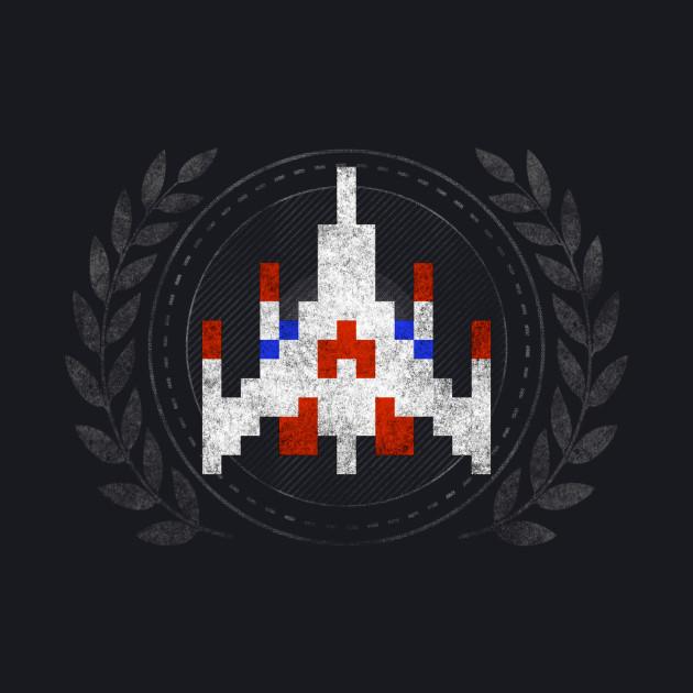 Galaga - Sprite Badge