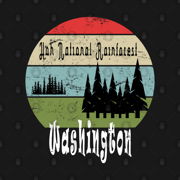 Hoh national rainforest Washington