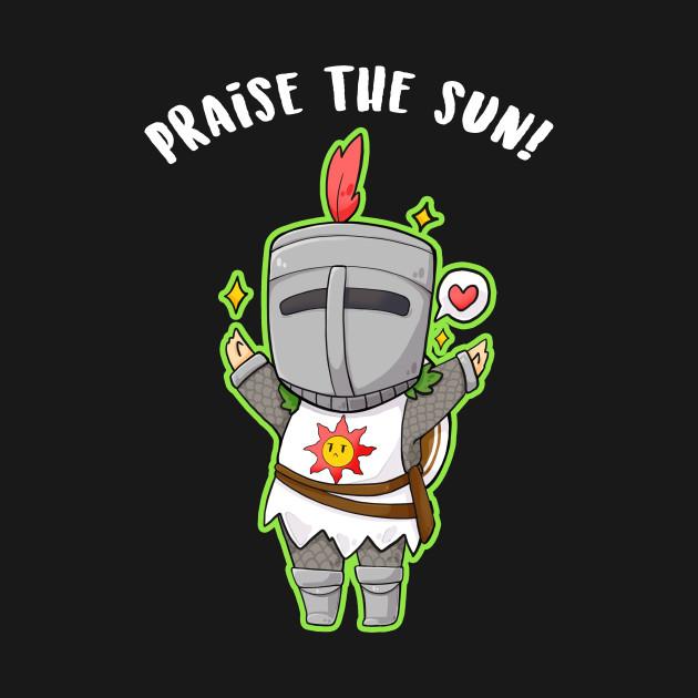 6f2c2b98f Praise the Sun - chibi Solaire dark souls - Solaire - T-Shirt ...