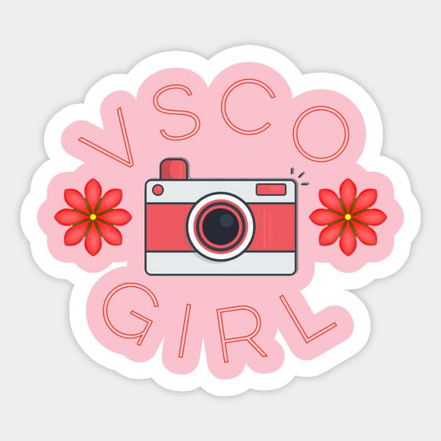 VSCO Girl - Vsco - Sticker | TeePublic