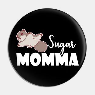 Sugar Glider of the Night Pinback Button Pin