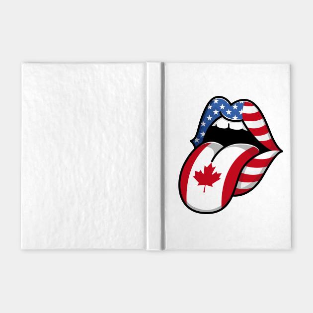 Tongue Canadian Pride Flag of Canada