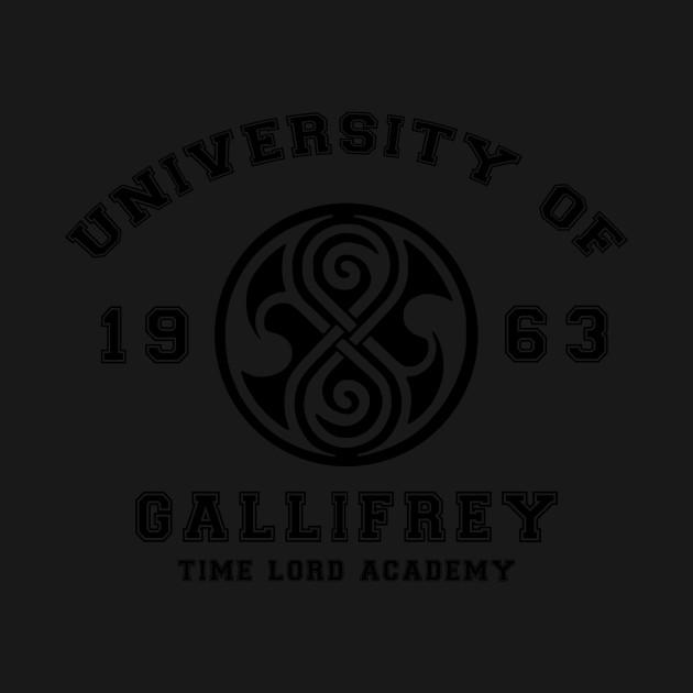 University Of Gallifrey Gallifreyan T Shirt Teepublic