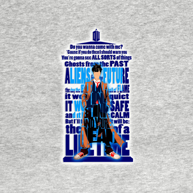 10th Doctor Typograph