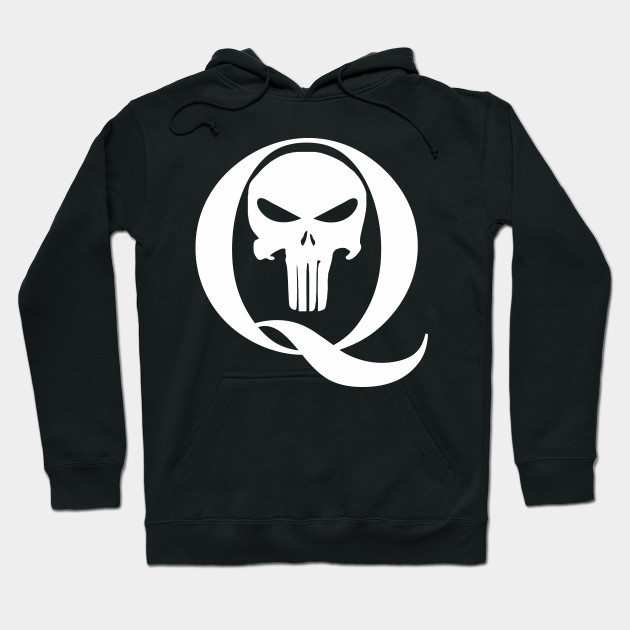 Qanon Q And Punisher Skull Qanon Hoodie Teepublic