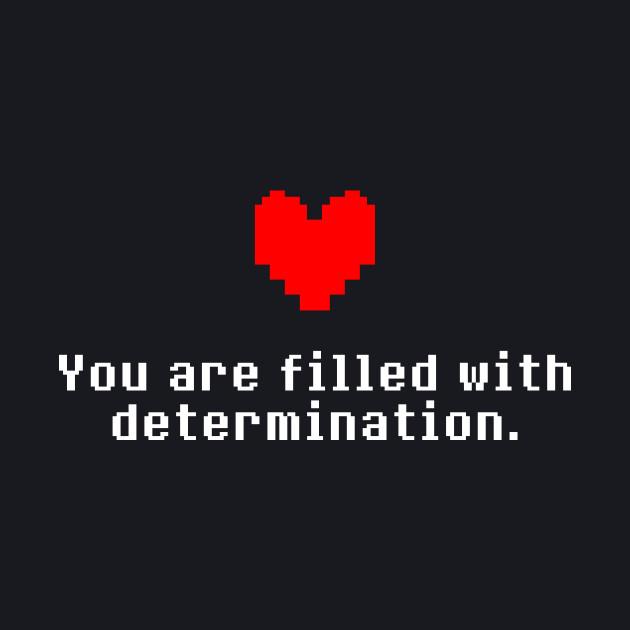Undertale - Determination heart