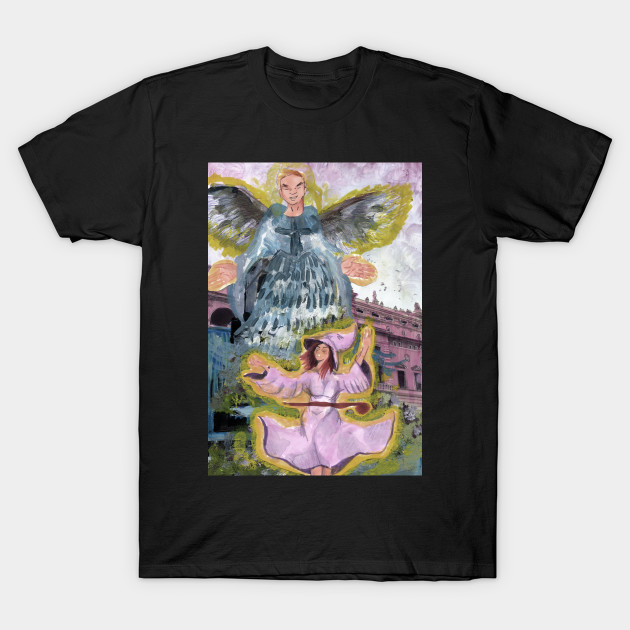 ShirtTeepublic T Witch And Angel ShirtTeepublic Angel And T Angel Witch Witch T And 0wOnkP