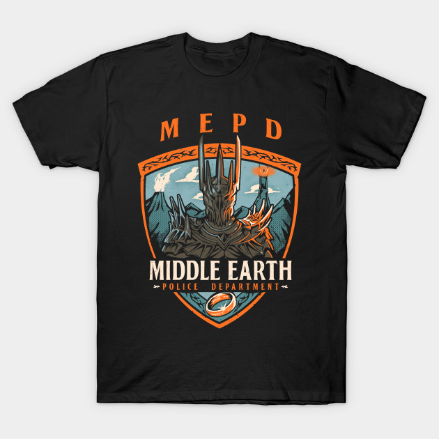 Middle Earth Police T-Shirt