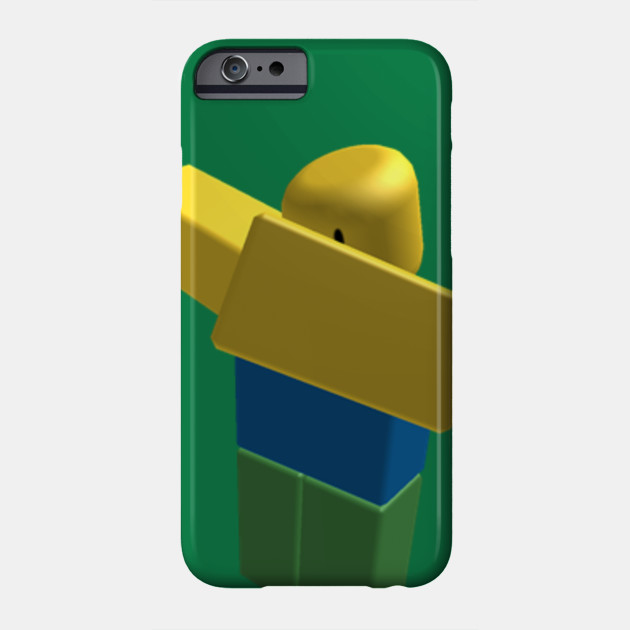 Roblox Noob Dabbing Roblox Game Phone Case Teepublic