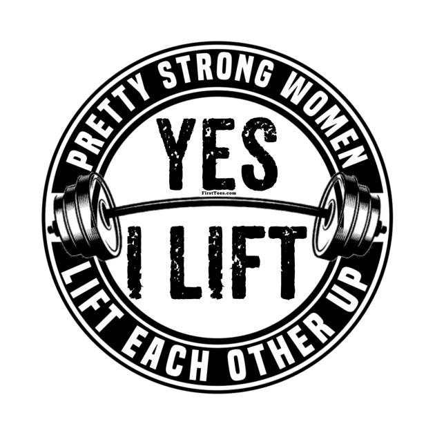 Pretty Strong Women Lift Each Other