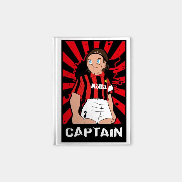 Soccer Milan Captain Maldini Vintage Football