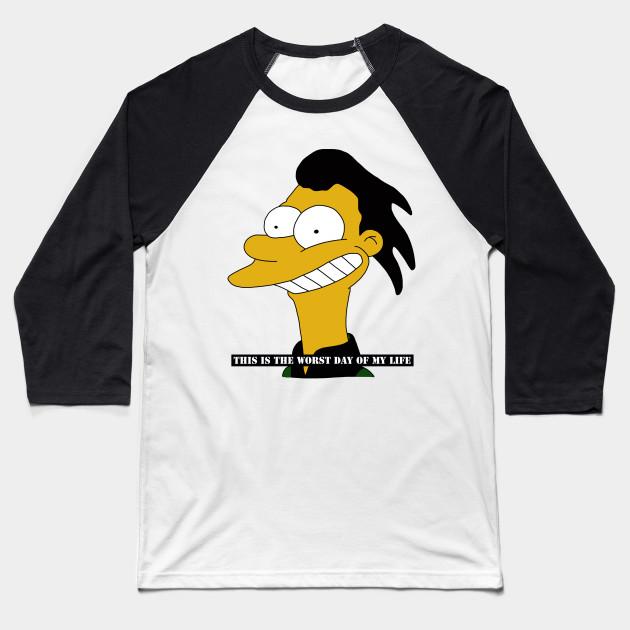 51c65ab48 Lenny - Simpsons - Baseball T-Shirt | TeePublic