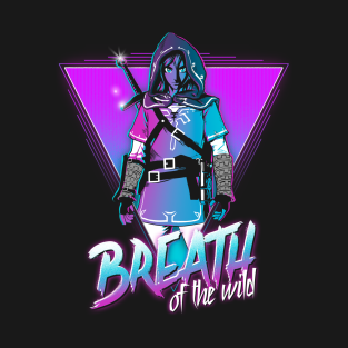 Breath of the Wild t-shirts