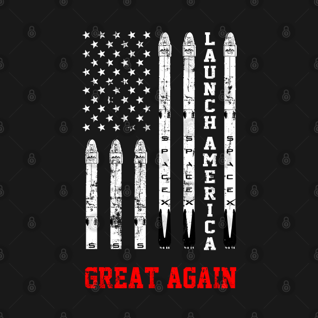 Launch America Great Again Flag