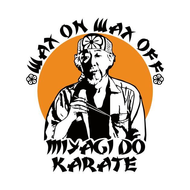 Mr. Miyagi Quote T-Shirt