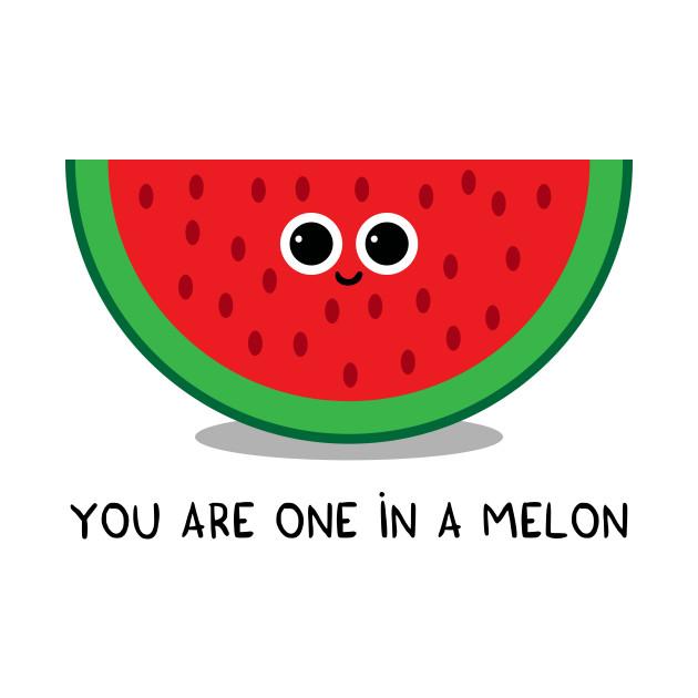 2c210c4e8 You are one in a MELON - Watermelon - Onesie | TeePublic
