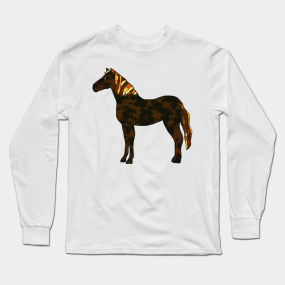 554bcc80 Horse Long Sleeve T-Shirts | TeePublic