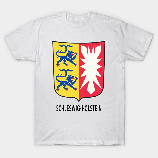 Schleswig Holstein Wappen Bundesland Deutschland Schleswig