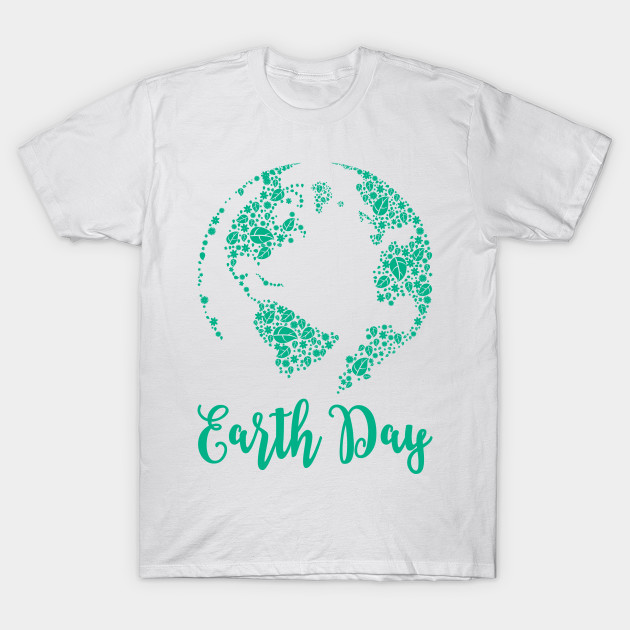 Earth Day World Leaves - Earth Day graphic Gift T-Shirt