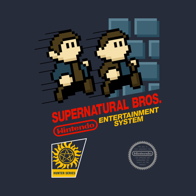 Supernatural Bros. Box Art