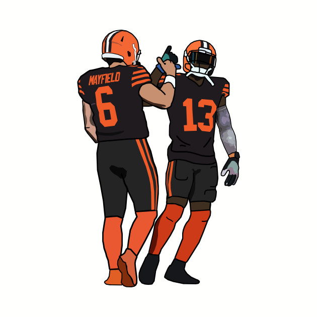 Baker Mayfield x Odell Beckham Jr  Cleveland Browns
