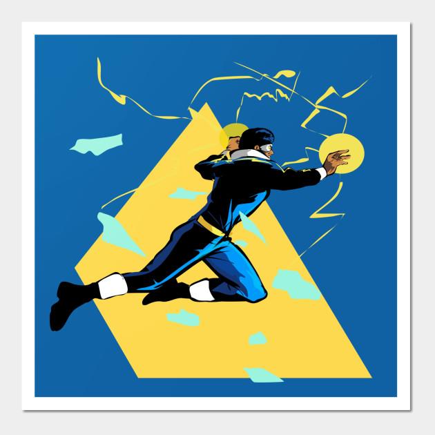 Black Lightning - Dc Comics - Wall Art | TeePublic