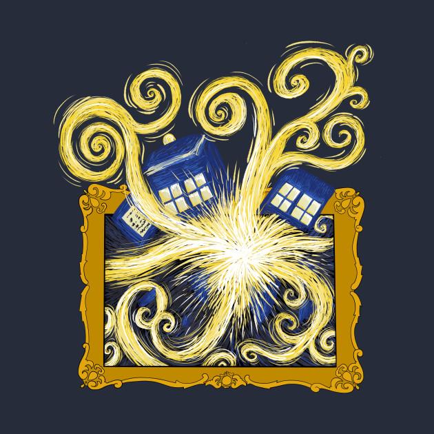 Exploding Tardis - Doctor Who