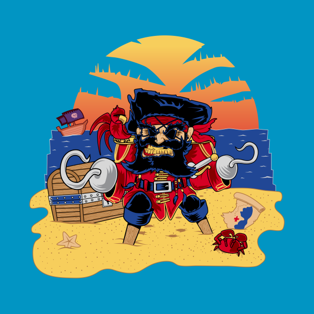 Lucky the Pirate
