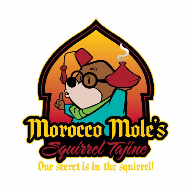Morocco Mole's Squirrel Tajine