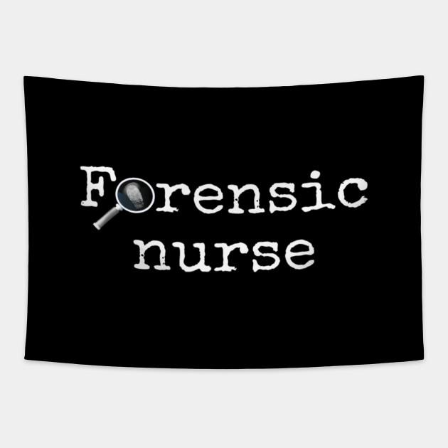 Forensic Nurse Practitioner Coroner T Shirt Forensic Nurse Practitioner Coroner T S Tapestry Teepublic