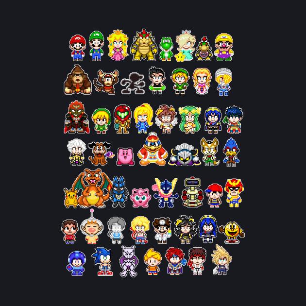 Super Smash Bros Pixels