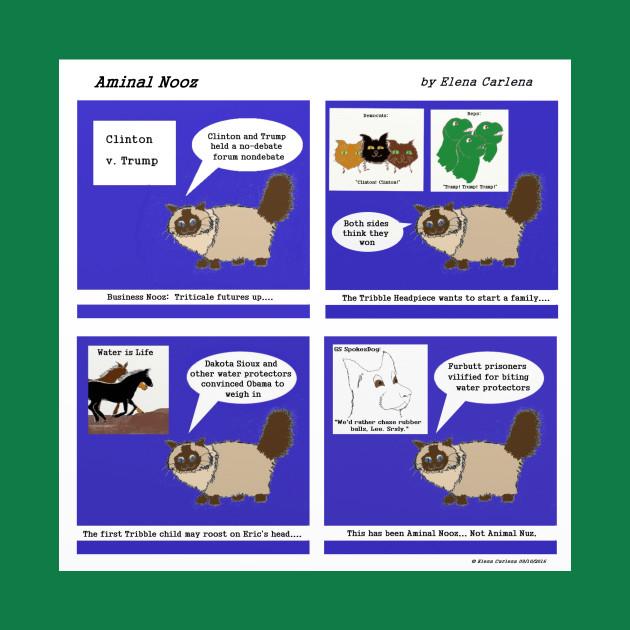 Aminal Nooz 1: Not Animal Nuz First Edition
