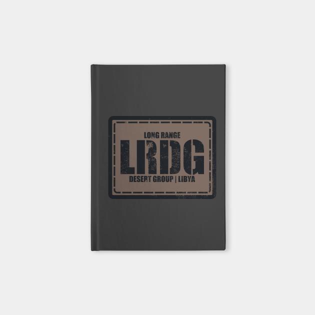 Long Range Desert Group LRDG (distressed)