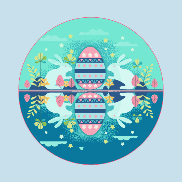 Easter bunny symmetry