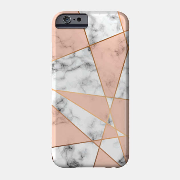 on sale 28821 52946 Gray Marble Background with Pink Geometric shapes