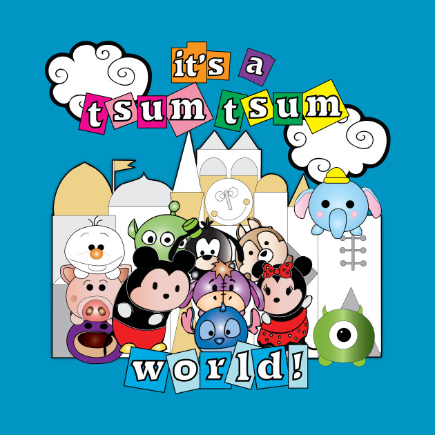 It's a tsum tsum world