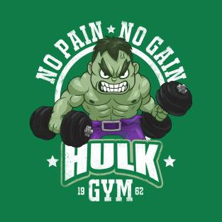 Hulk Gym t-shirts