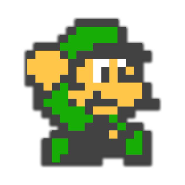 8 bit masterpiece - Luigi