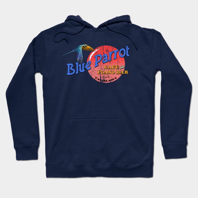 Blue Parrot Cafe & Piano Bar Hoodie